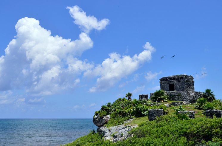Tulum, Karibikküste in Mexiko