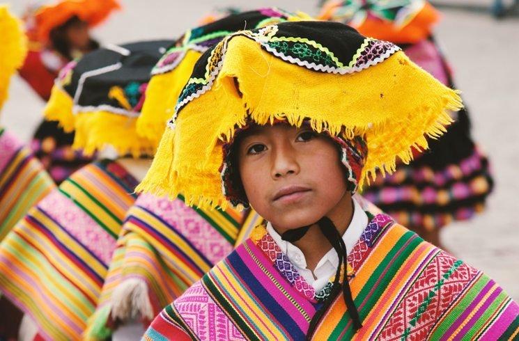 Tracht in Peru