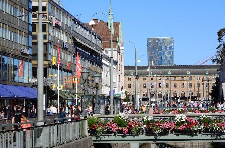 Göteborg in Schweden