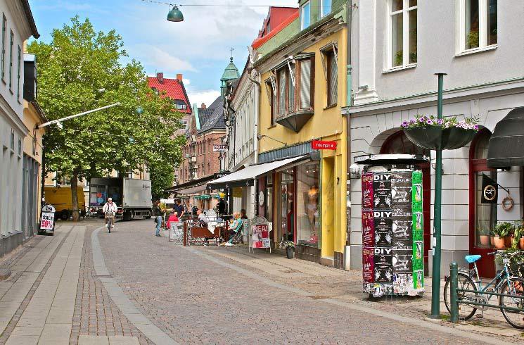Altstadt von Malmö, Schweden