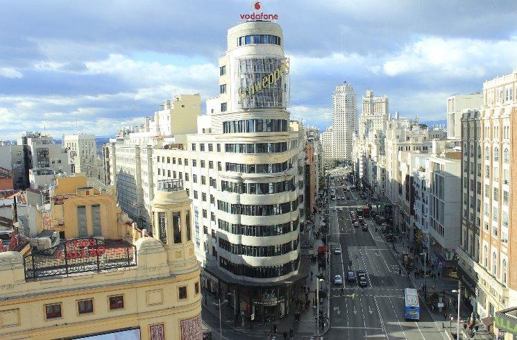 Zentrum von Madrid