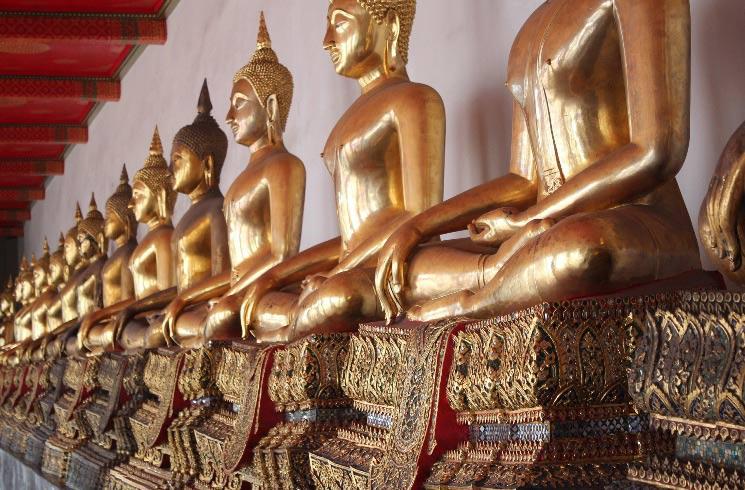 Buddha-Statuen in Thailand