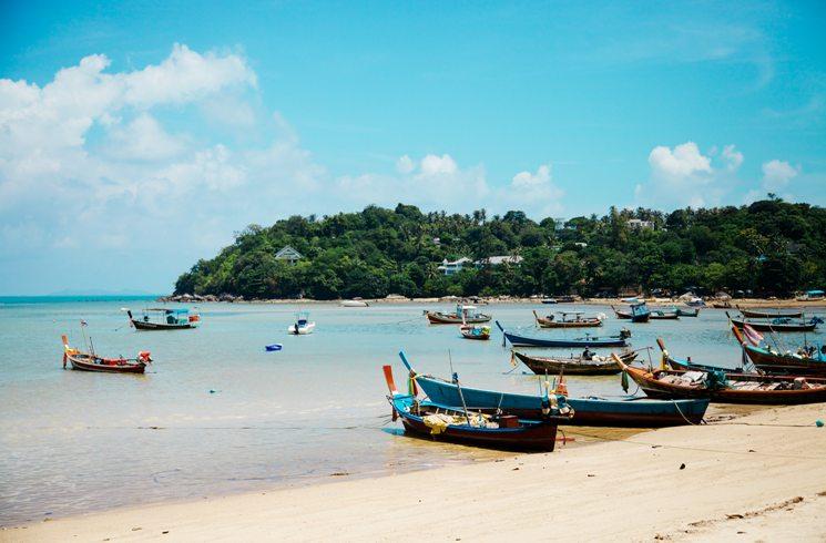Insel Ko Samui in Thailand
