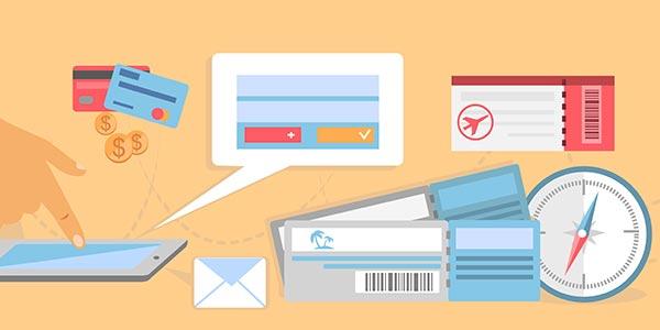 Reise Dokumente & Must haves als Grafik