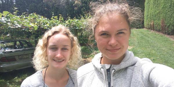 Annalena und Barbara haben in Neuseeland ihre erste Arbeit gefunden