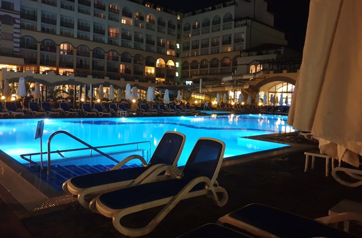 Sunny Beach Hotel in Bulgarien