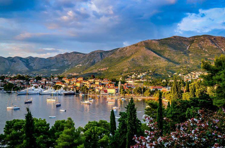 Cavtat in Kroatien