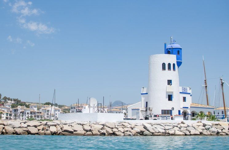 Puerto de la Duquesa in Spanien