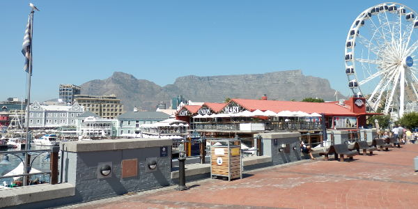 Shoppen in Kapstadt an der V&A Waterfront