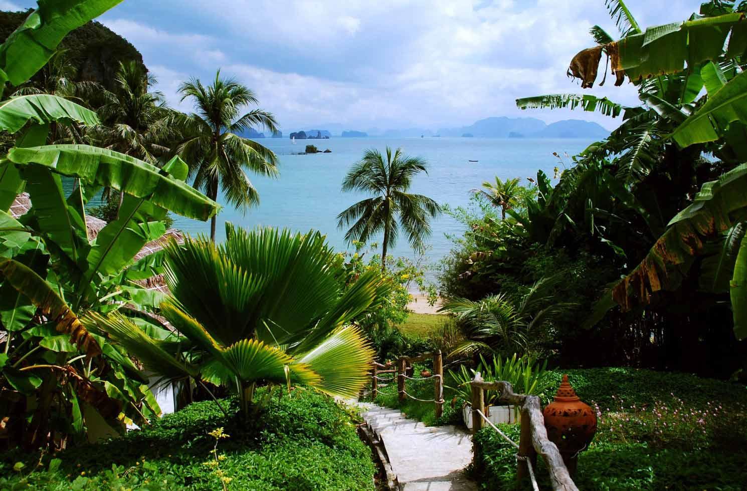 Blick aufs Meer in Thailand