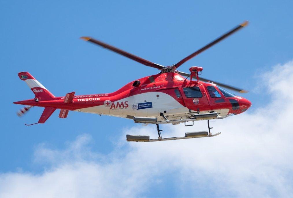Hubschrauber für den Krankentransport - Krankenversicherung
