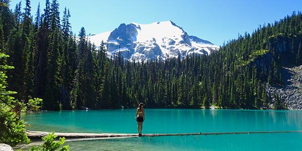 See im Skigebiet Whistler zur Sommerzeit