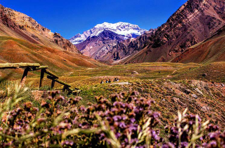 Aconcagua-Park, Mendoza, Argentinien