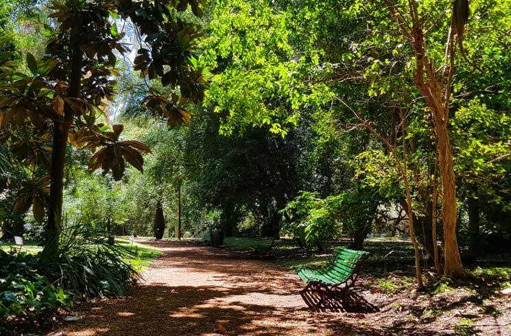 Jardin-Botanico in Buenos Aires