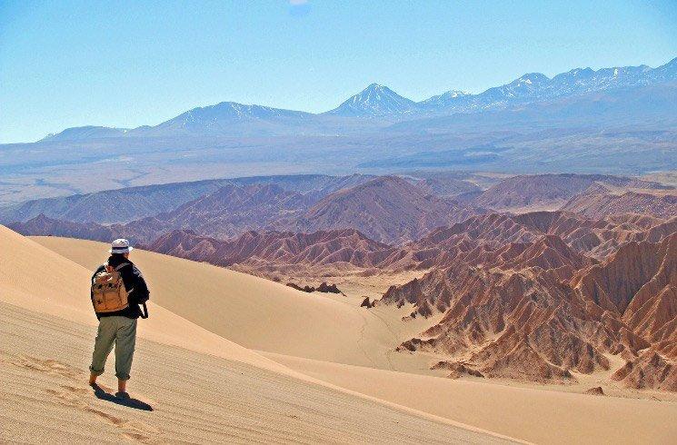 Atacama-Salzwüste in Chile