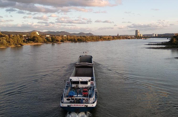 Der Rhein in Deutschland