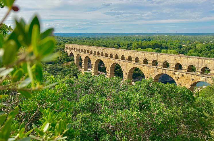 Vers Pont du Gard in Frankeich