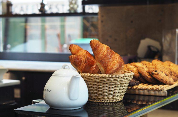 Croissants und andere Backwaren in Frankreich