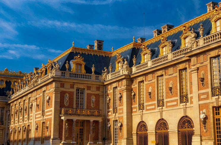Schloß Versailles in Frankreich