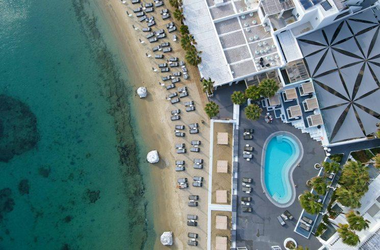 Hotelanlage in Griechenland