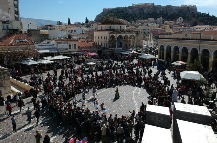 Volkstanz in Griechenland