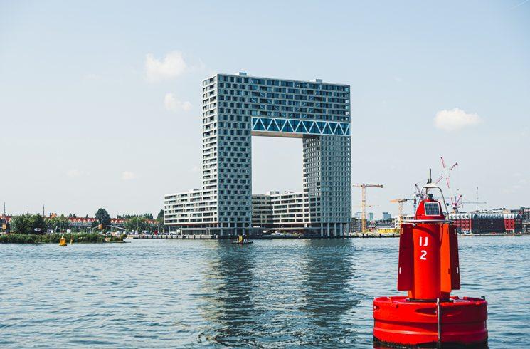 Moderne Architektur in Amsterdam