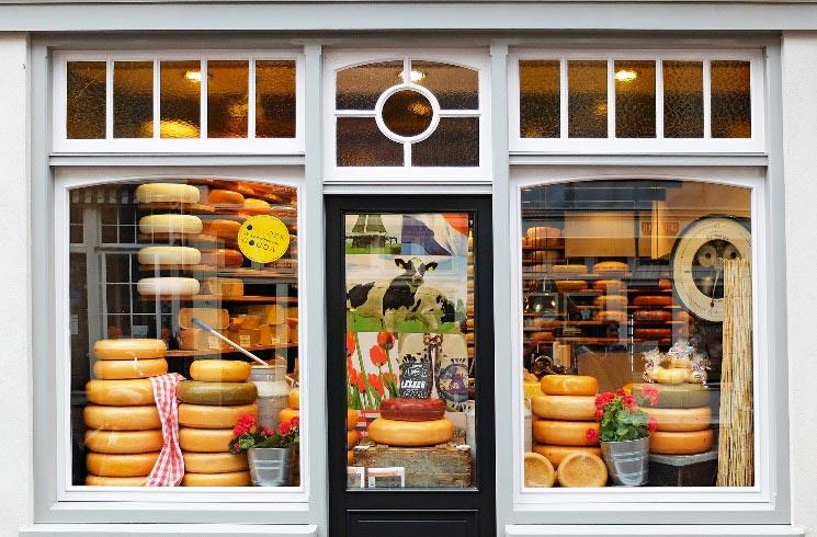 Käseladen in Holland
