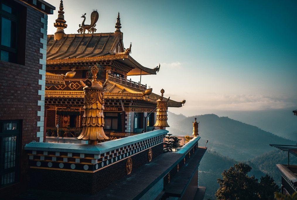 Thrangu tashi choling monastery, Kathmandu, Nepal