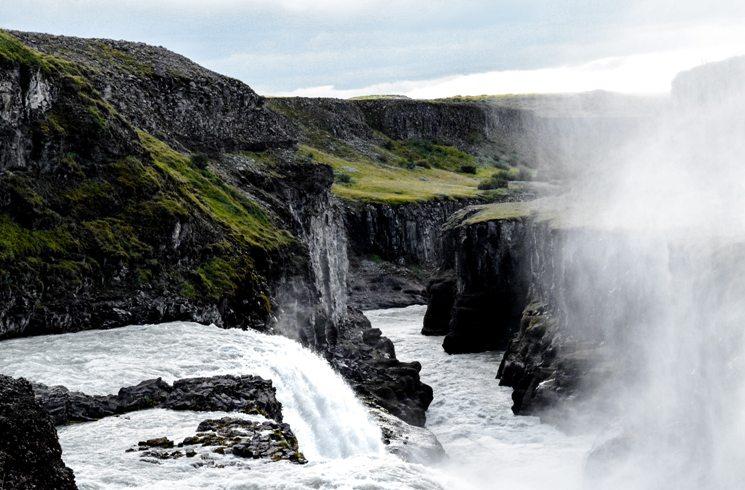 Wasserfall in Island