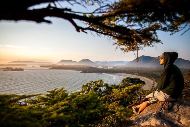 Der Cox Bay Viewpoint in Tofino