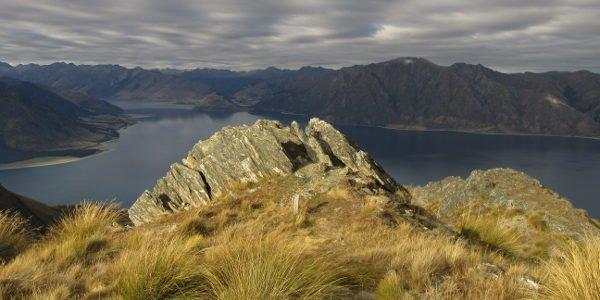 Die Wanderung auf den Mount Isthmus ist eines der schönen Erlebnisse von Alina