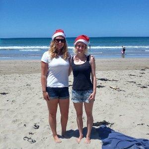 Barbara und Annalena machen Work and Travel in Neuseeland und verbringen auch Weihnachten dort