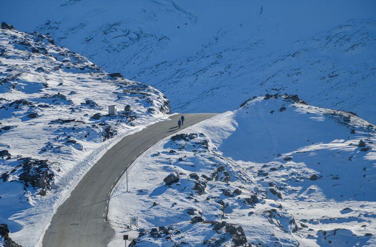 Im Winter in Norwegen unterwegs