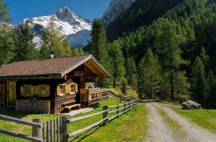 Hütte in Österreich