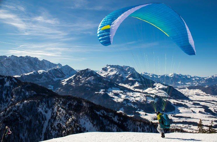 Paragliding in Österreich