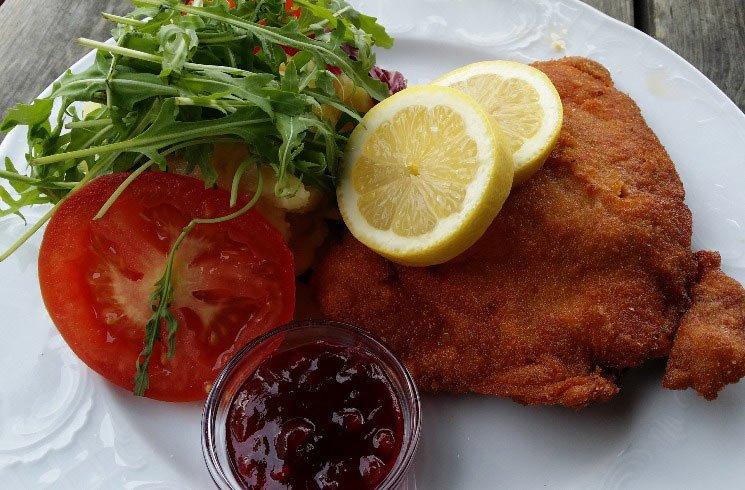 Wiener Schnitzel, Österreich