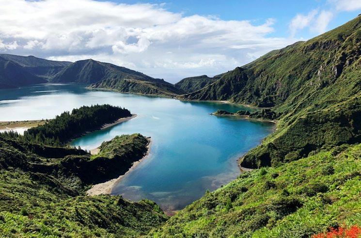 Auf den Azoren, Portugal