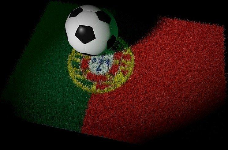 Fußball-Begeisterung in Portugal