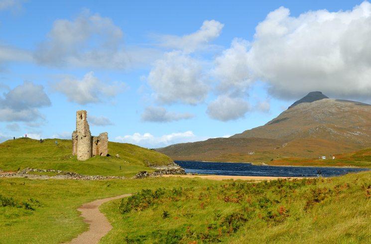 Advreck-Castle, Lairg in Schottland