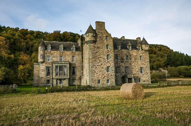 Castle in Schottland