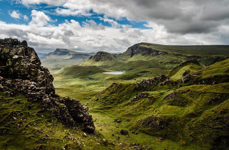 Isle of Skype in Schottland