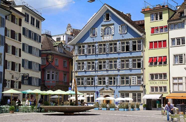 Häuser in Zürich