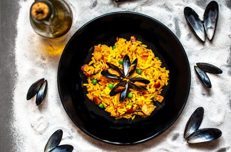 Typisches Gericht in Spanien: Paella