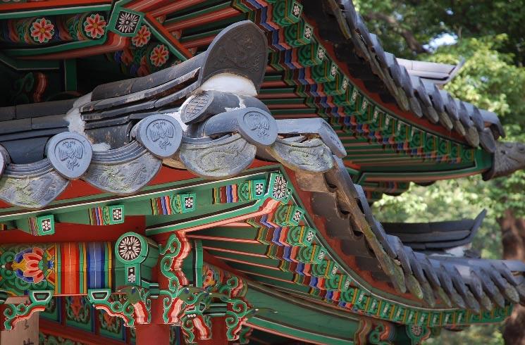 Tempelanlage Changdeokgung in Südkorea