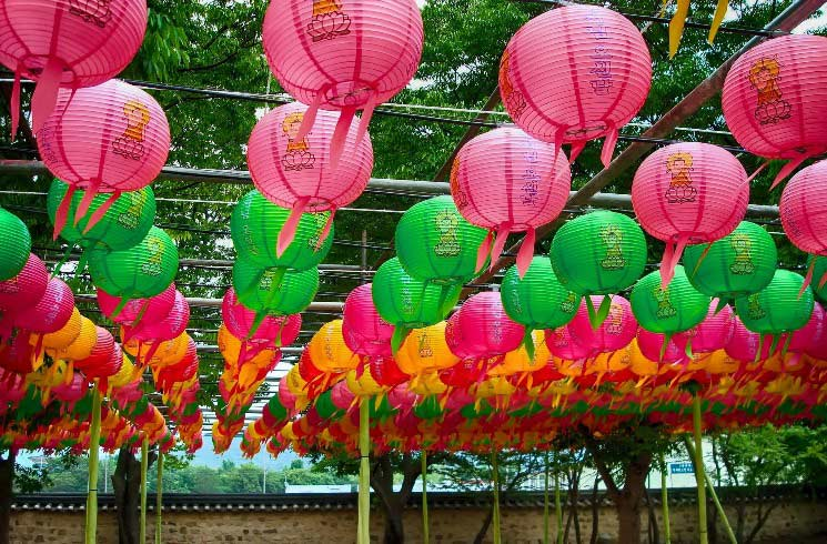 Laternenfest in Südkorea, Gyeong Ju