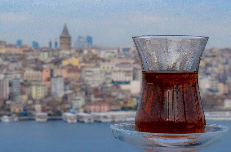 Tee trinken in der Türkei
