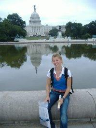Laura hat auf ihrem Trip entlang der Ostküste auch Washington besucht.