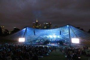 Melbourne Music Bowl. Die Stadt hat unglaublich viel zu bieten.