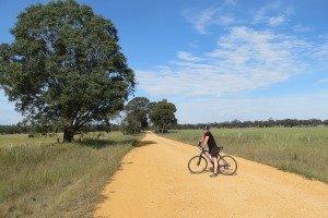 Fahrradtour Outback