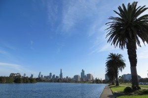 Albert Park Lake Melbourne